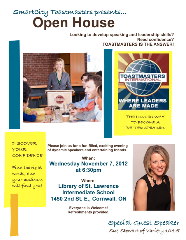 Smart City Open House in Cornwall Ontario