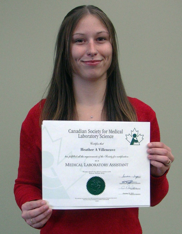 The Face of a Linguistic Victim in Cornwall Ontario – Lab Assistant Heather Villeneuve Faces Having to Leave Home Over Bilingual Status