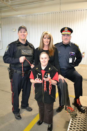 Cornwall Community Police Service Celebrates WEAR YOUR RED LACES IN SUPPORT OF SPECIAL OLYMPICS OCTOBER 25, 2012
