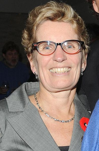 Kathleen Wynne Wins Liberal Nomination – First Woman & Lesbian Premier of Ontario – January 26, 2013