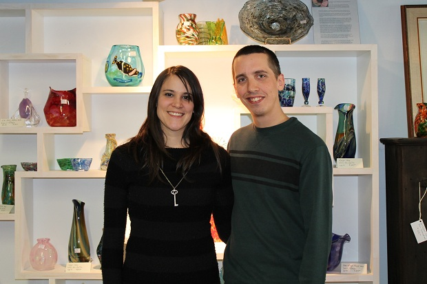 Glassblowing Place Presents A Glass Art and Jewelry Vernissage on November 25th, 2012