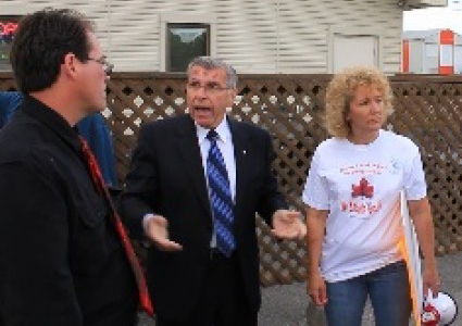 MP Lauzon Out As Canada Day Chair & Fail on Refugees in Cornwall.  By Jamie Gilcig 082617