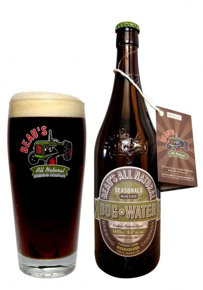 Beaus Brew Bog Water hits LCBO Shelves November 29th, 2012!