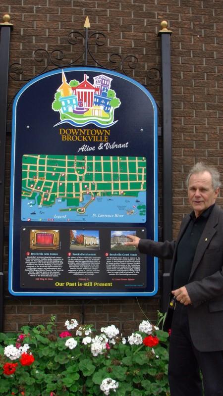 Youthful Brockville Ontario City Councilor Leigh Bursey Tackling Youth Retention – November 22, 2012