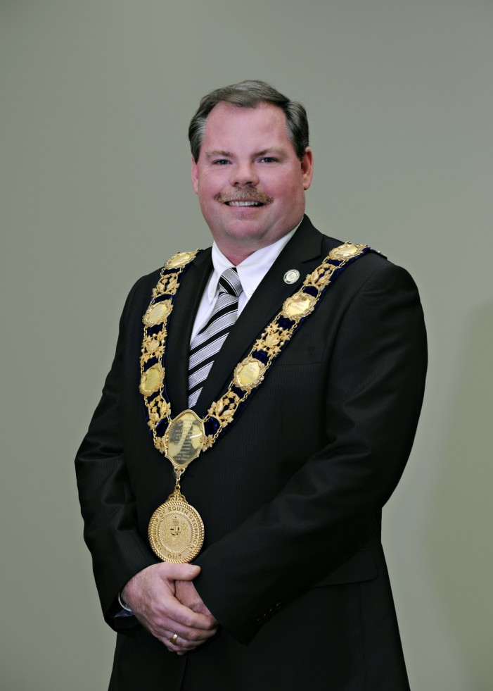 South Stormont Mayor Bryan McGillis Dares to Flash a Stache for Movember!