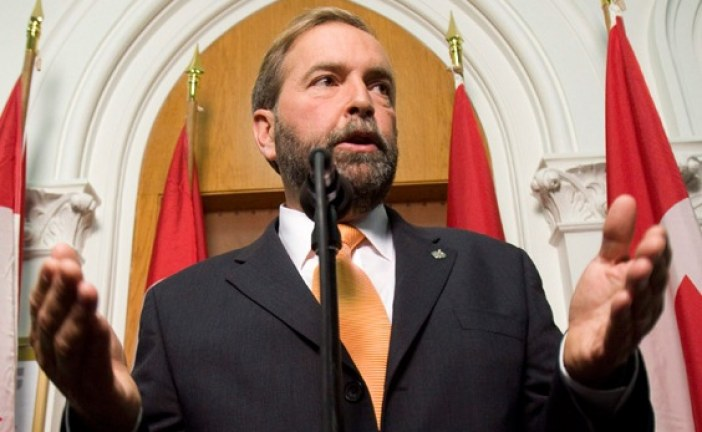 View From the Hill by Keith Beardsley – How Boring has Question Period Become?  Let Mulcair be Mulcair!