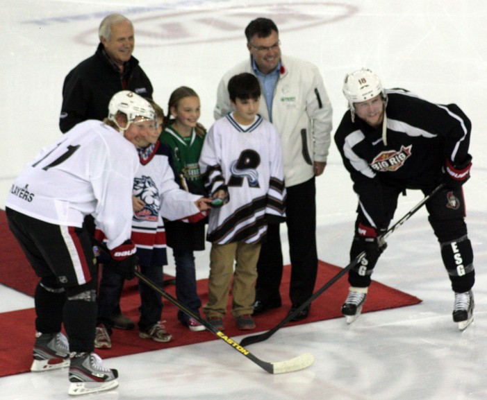 NHL Hockey in Cornwall Ontario – Full House Gets their fill by Joseph Boyer – November 6, 2012
