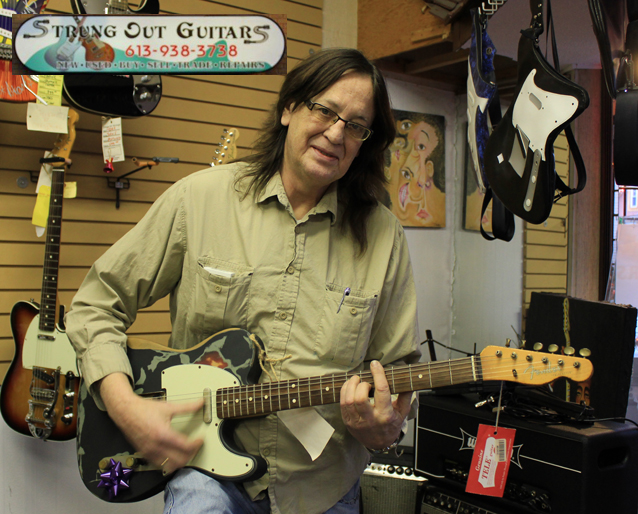 Strung Out Guitars in Cornwall Ontario – Your Vintage & Used Store