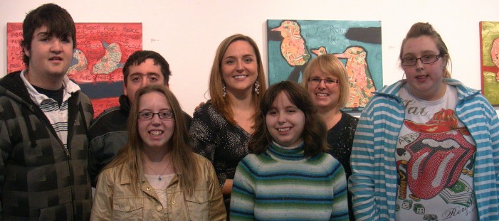 Exceptional Art from Beautiful Minds Exhibit in Cornwall Ontario – HD VIDEO – December 16, 2012