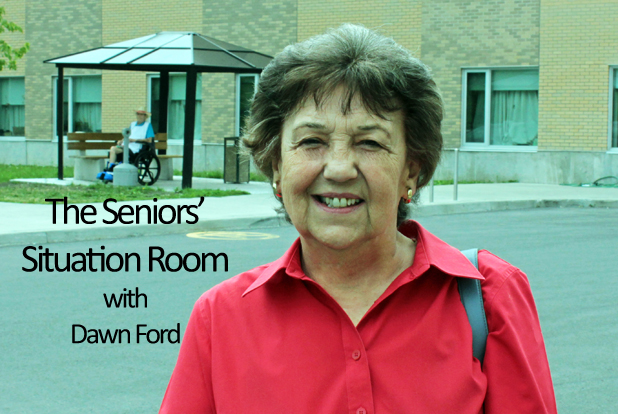 Seniors Situation Room by  Dawn Ford – Remembrance Day is Soon – OCT 29, 2015