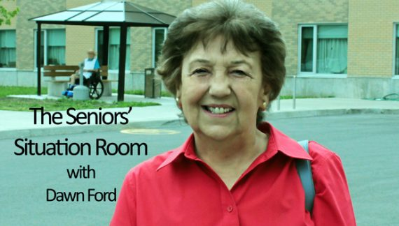 Seniors Situation Room by Dawn Ford – National Volunteer Month – Girl Guide Cookies & Ice Cream 041518