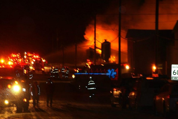 Bourdon Poultry Farm in North Lancaster STRUCK by FIRE – December 29, 2012