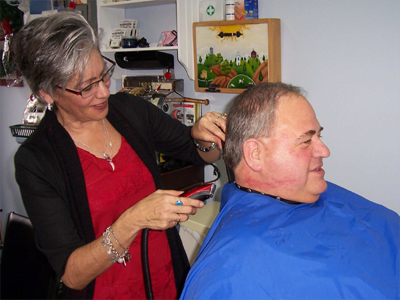 Olde Fashioned Service with a smile at Luc's Barbershop in  Cornwall Ontario