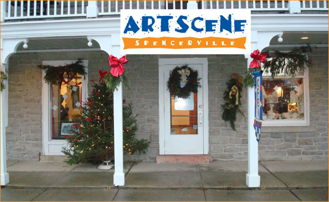 ArtScene in nearby Spencerville Ontario has great gift-giving ideas!
