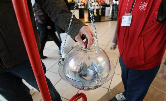 Thank You from The Salvation Army in Cornwall Ontario !   December 26, 2012