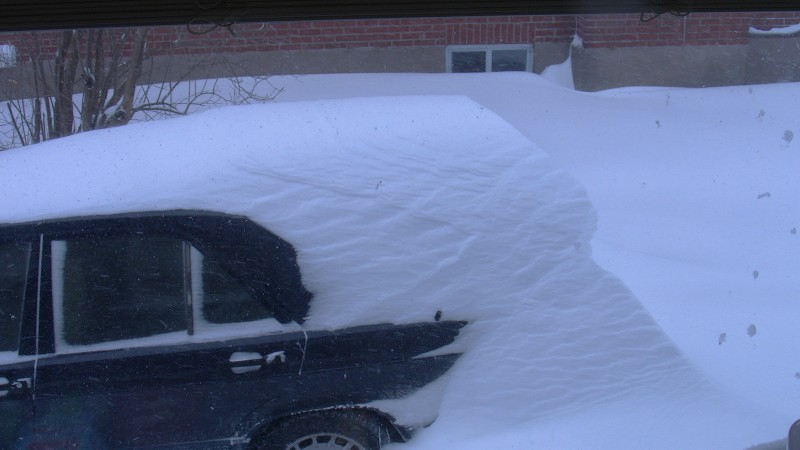 my car snow
