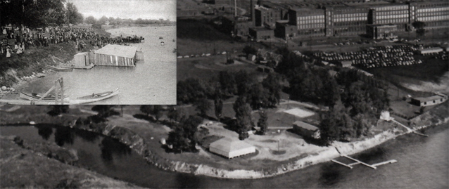 Another Cornwall memory is St. Lawrence Park at Windmill Point prior to the St. Lawrence Seaway