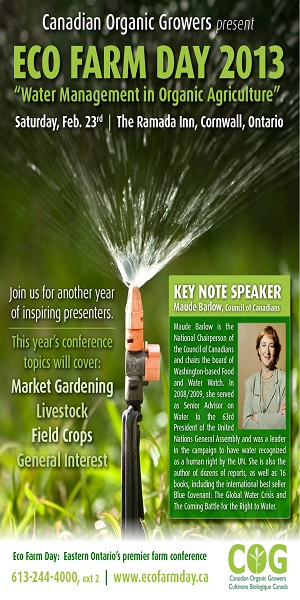 Food and Farming with Tom Manley – Managing Drought with Soil Tillage – Eco Farm Day in Cornwall February 23, 2013