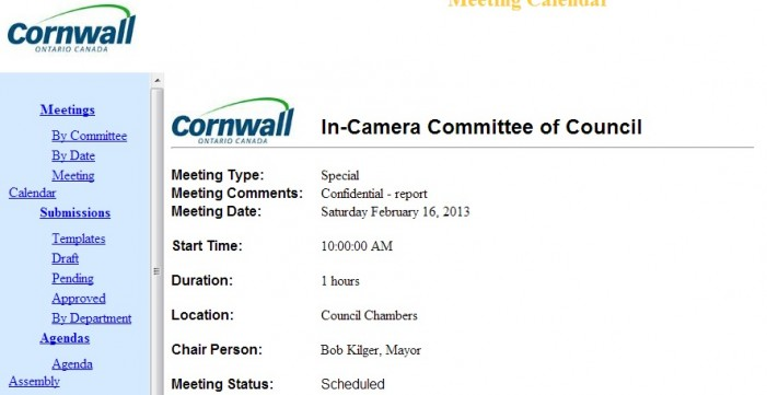 Bare Ass Bob Kilger Ducks Conflict of Interest Council Meeting In Cornwall Ontario – POLL