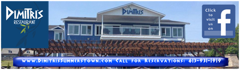 Have you Booked for Valentine's Day at Dimitri's Restaurant in Summerstown Ontario?  613 931 1919