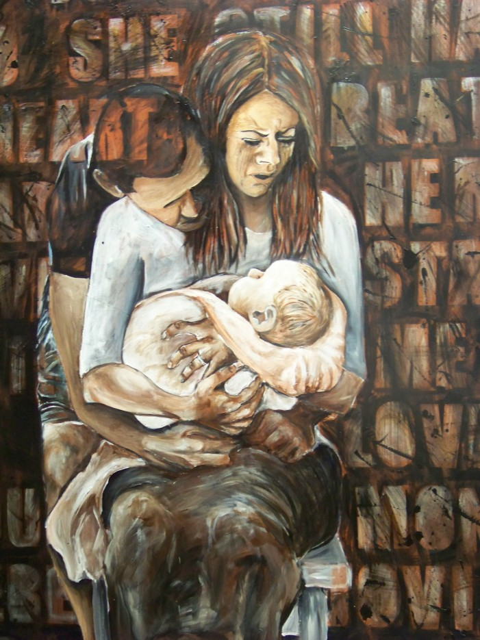 Inspiration borne of sorrow: Cornwall artist Renée Lalande tackles what is sadly taboo. By Mary Anne Pankhurst