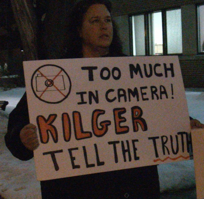 Cornwall Ontario Councilor Syd Gardiner Still Not Charged for Damaging & Moving Protest Signs at Council Meeting