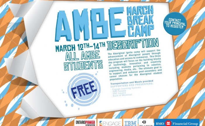 BMO OPG IBM SNC Lavalin Team Up for AMBE in Cornwall Ontario – March 12-14, 2013