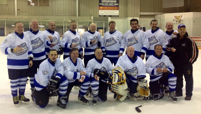 Cornwall Seaway Blades Men's Senior Hockey Take Bronze !  March 4, 2013
