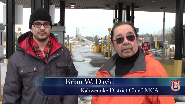 UPDATED (Poll added) -Let's talk about the border crossing:  Chief Brian David & Idle No More Ahkwesáhsne – a CFN Exclusive!