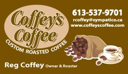 Coffey's Coffee Bus Card
