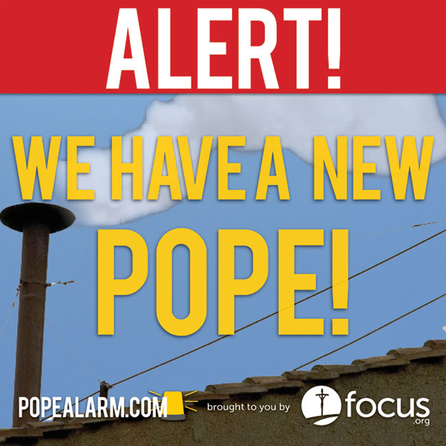 Habemus papam – We have a new pope!  Argentinian Cardinal Jorge Cardinal Mario Bergoglio becomes Pope Francis the First