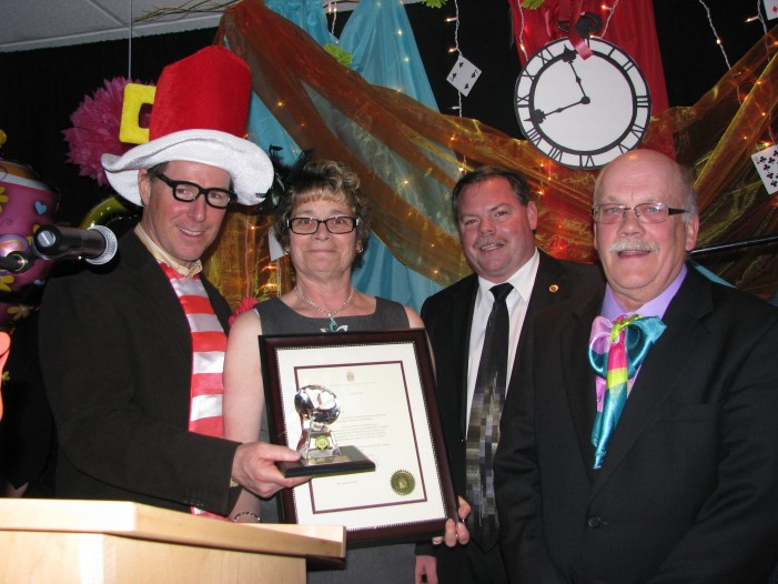 South Stormont Ontario Thanks Its Community Volunteers at Banquet – April 19, 2013