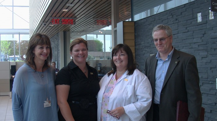 Jim McDonell Visits CCH for Take Your MPP to Work Day to Celebrate International Nursing Week!