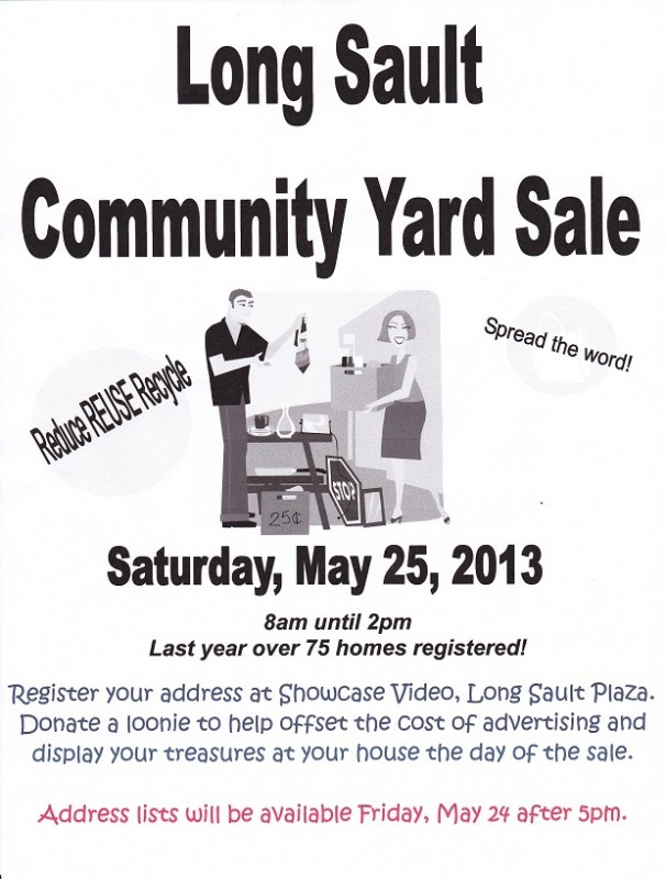 Long Sault Yard Sale 2013