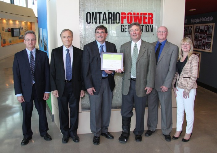 OPG Visitor Station in Cornwall Ontario Celebrates LEED Program Gold Award Certification!