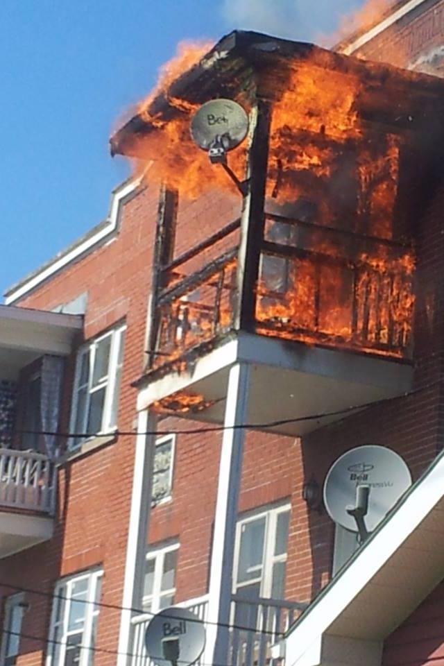 UPDATED – Fire Strikes 331 Cumberland Street Apartment in Cornwall Ontario – June 21, 2013