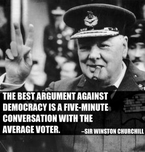 churchill democracy