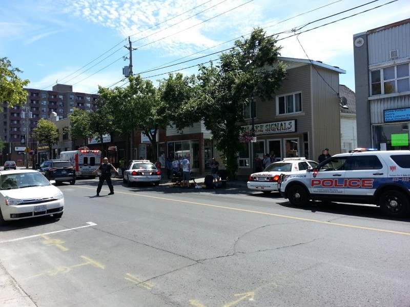 police Montreal road july 27 13 2