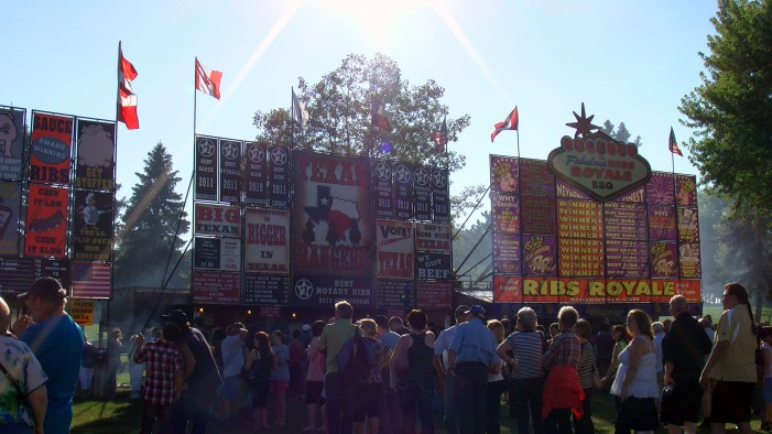 Did Ribfest Really Draw More on Friday Night than All of Lift Off 4 Day Weekend?  July 27, 2013