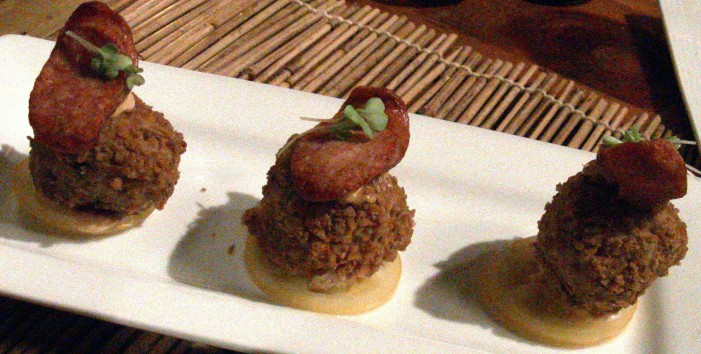 Bar Q Has the Biggest (risotto) Balls in Cornwall Ontario – Restaurant Review by Jamie Gilcig