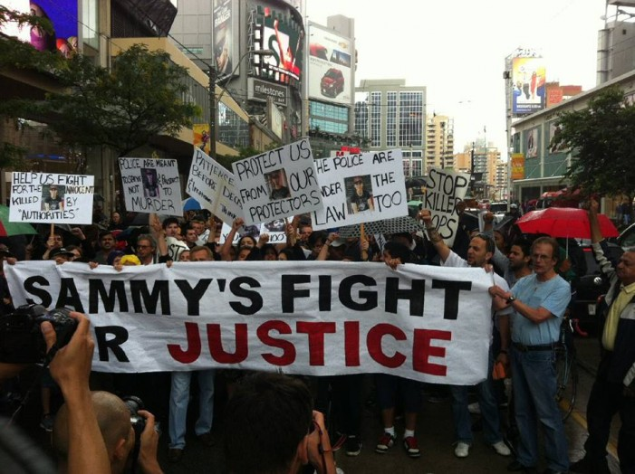 Rally for Toronto Police Shooting Victim Sammy Yatim Emotional – 2nd Rally Called for August 13, 2013  VIDEO