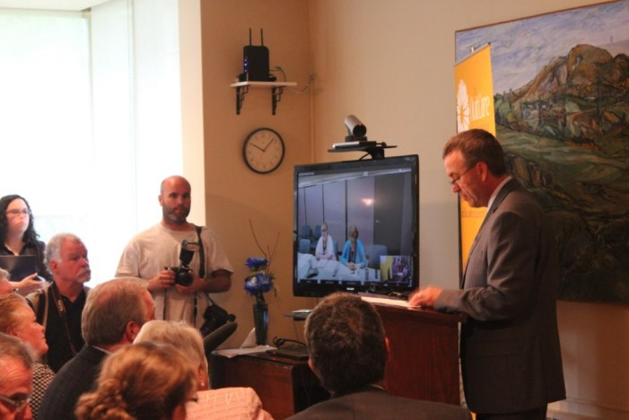 OutCare Foundation Announces Telemedicine Initiative for Palliative Care in Champlain Region – Aug 22, 2013