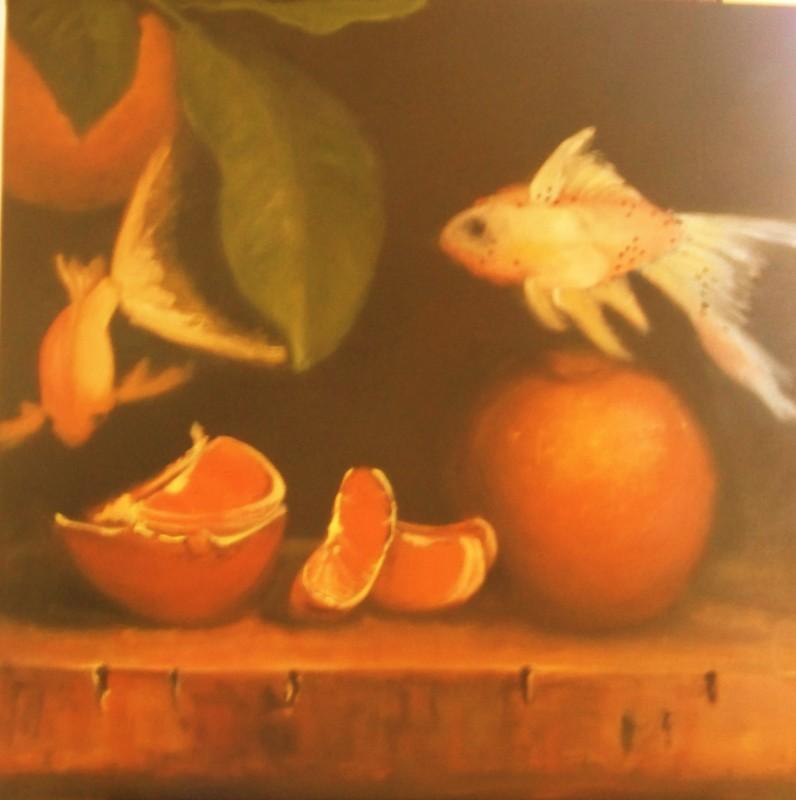 Pankhurst_orangefish_oil canvas