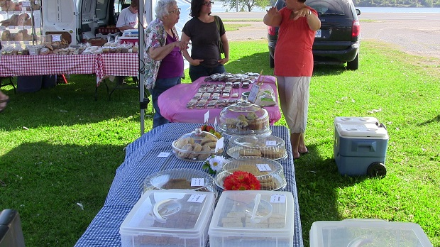 The Last Day of Summer at the Long Sault Farmer's Market by Reg Coffey – Sept 21, 2013