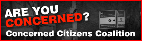 Concerned Citizens Coalition To Meet Over Stalled Cornwall General Sale – Monday September 16th 2013  CLICK FOR DETAILS