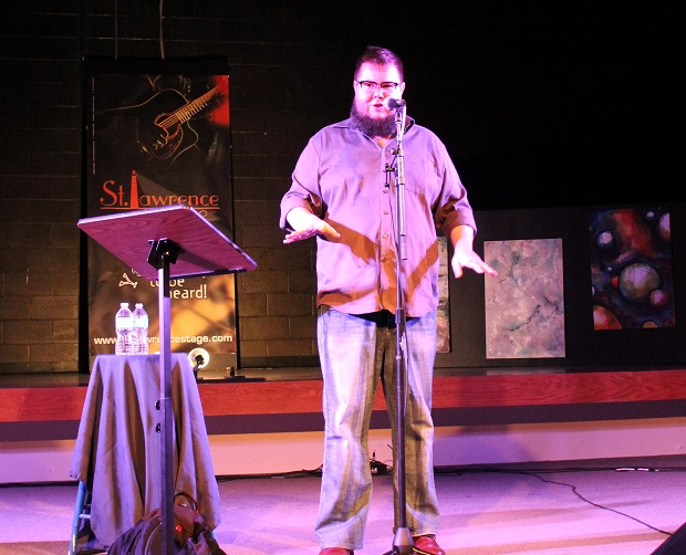 The Season Begins at The St. Lawrence Acoustic Stage with Poetry by Reg Coffey – Sept 14, 2013