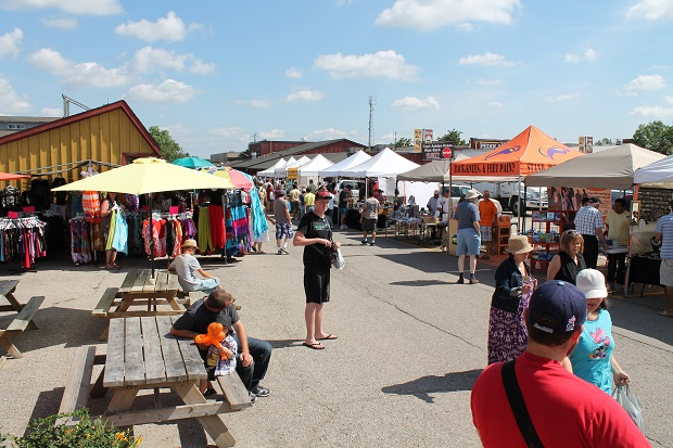 Long Sault Market Still Alive and Well in September by Reg Coffey