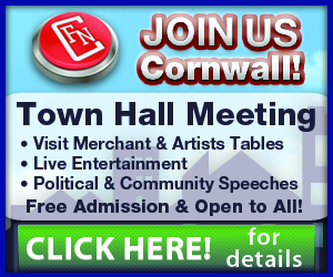 Our First Town Hall Meeting roster for Sunday Oct 27 at the RCAF Wing in Cornwall Ontario!   CLICK FOR DETAILS!