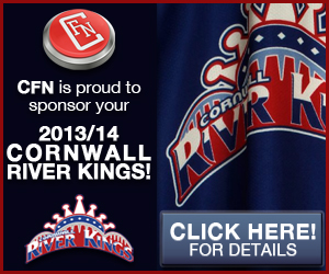 River Kings Ready To Rumble for Home Opener Saturday Oct 26 – CFN Proud to Sponsor Your 2013 2014 LNAH Hockey!