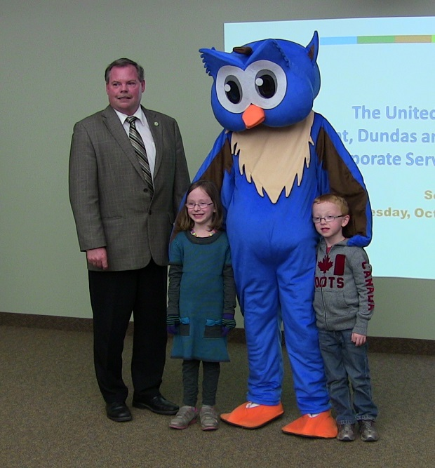 New Mascot for South Stormont Township by Reg Coffey, October 25, 2013